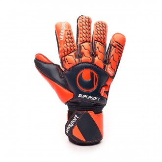 Guante  Uhlsport Next Level Supersoft Navy-Fluor red