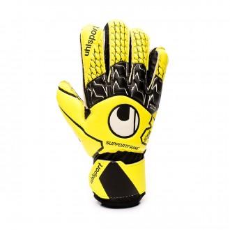 Guanti  Uhlsport Soft SF Junior Fluor yellow-Black-White
