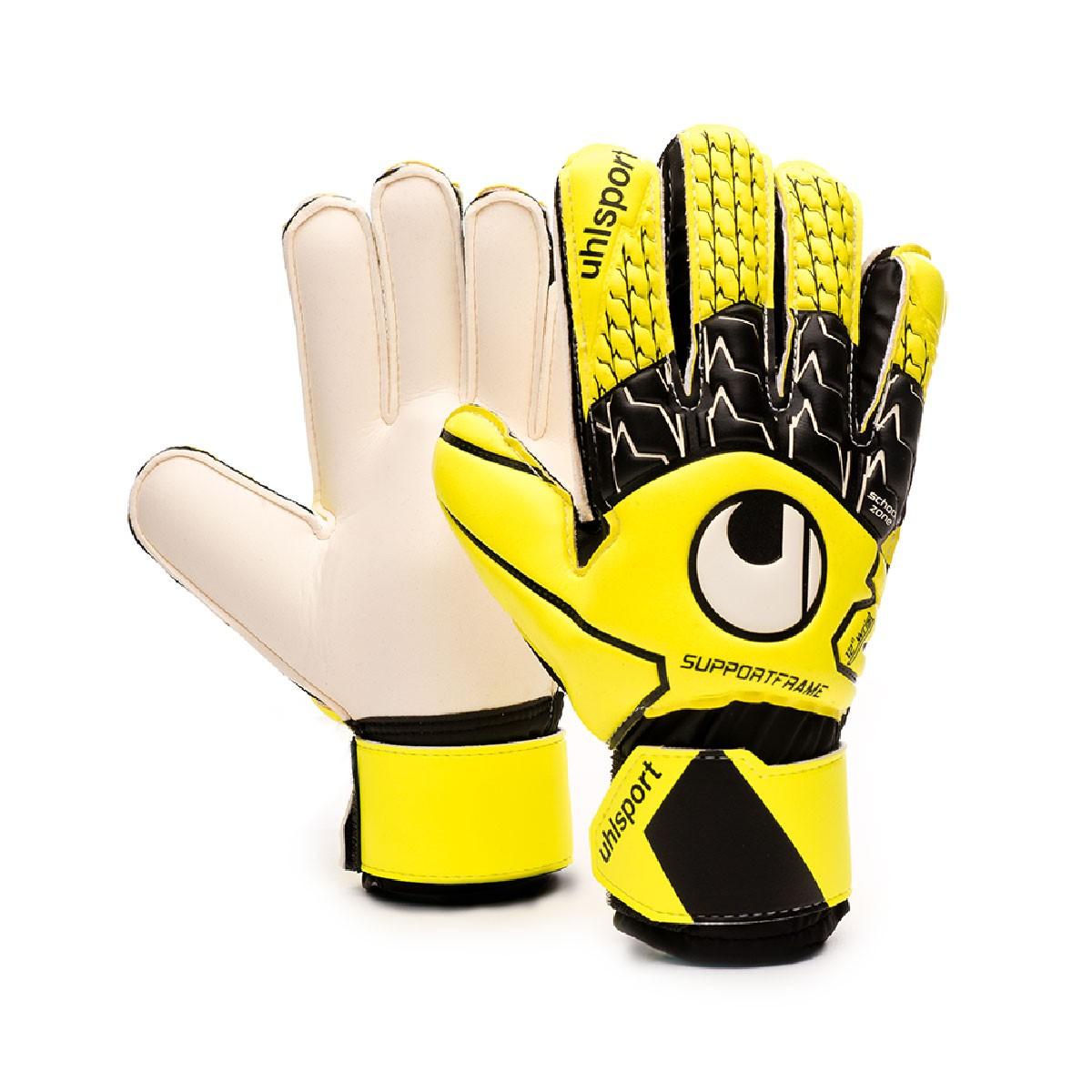f42e30174 Glove Uhlsport Soft SF Niño Fluor yellow-Black-White - Tienda de fútbol  Fútbol Emotion