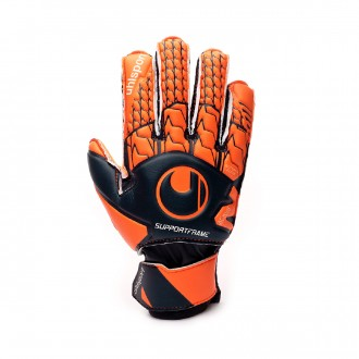Guante  Uhlsport Next Level Soft SF Niño Navy-Fluor red