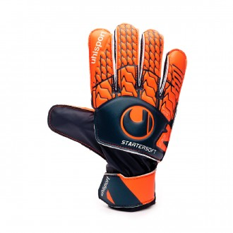 Guante  Uhlsport Next Level Starter Soft Navy-Fluor red