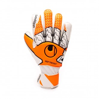 Guanti Uhlsport Soft Resist Fluor orange-White-Black