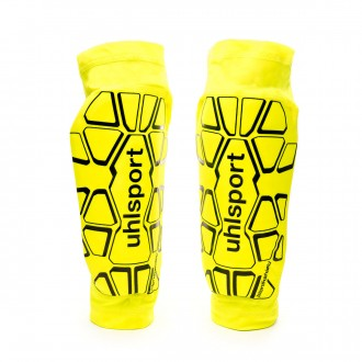 Shinpads  Uhlsport Bionikshield Fluor yellow-Black