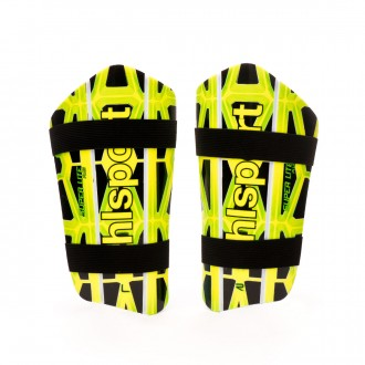 Shinpads  Uhlsport Super Lite Plus Black-Fluor yellow-Fluor green