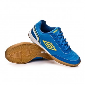 Futsal Boot  Umbro Futsal Street V IC Electric blue-Blazing yellow-Royal-White