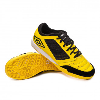 Zapatilla  Umbro Chaleira Pro IC Blazing yellow-Black-White