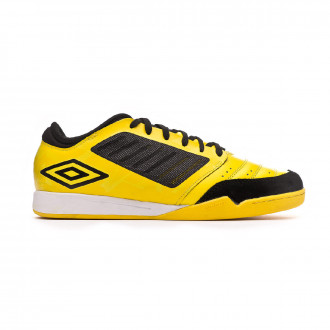 Sapatilha de Futsal  Umbro Chaleira Pro IC Blazing yellow-Black-White