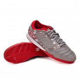 Futsal Boot Chaleira Pro IC Gray flannel-Goji berry