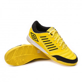 Futsal Boot  Umbro Chaleira Liga IC Blazing yellow-Black-White