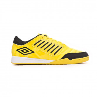Sapatilha de Futsal  Umbro Chaleira Liga IC Blazing yellow-Black-White