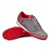Chaussure de futsal Chaleira Liga IC Gray flannel-Goji berry