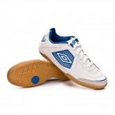 Chaussure de futsal Sala Liga White-Royal-Lava pink