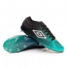 Football Boots Velocita IV PRO FG Black-White-Marine green