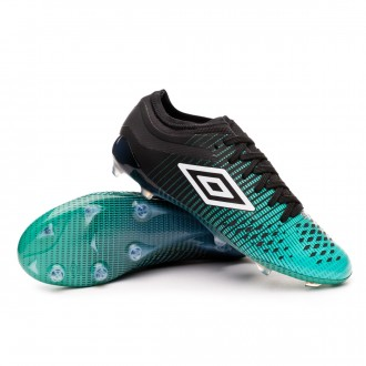 Chaussure de foot  Umbro Velocita IV PRO FG Black-White-Marine green