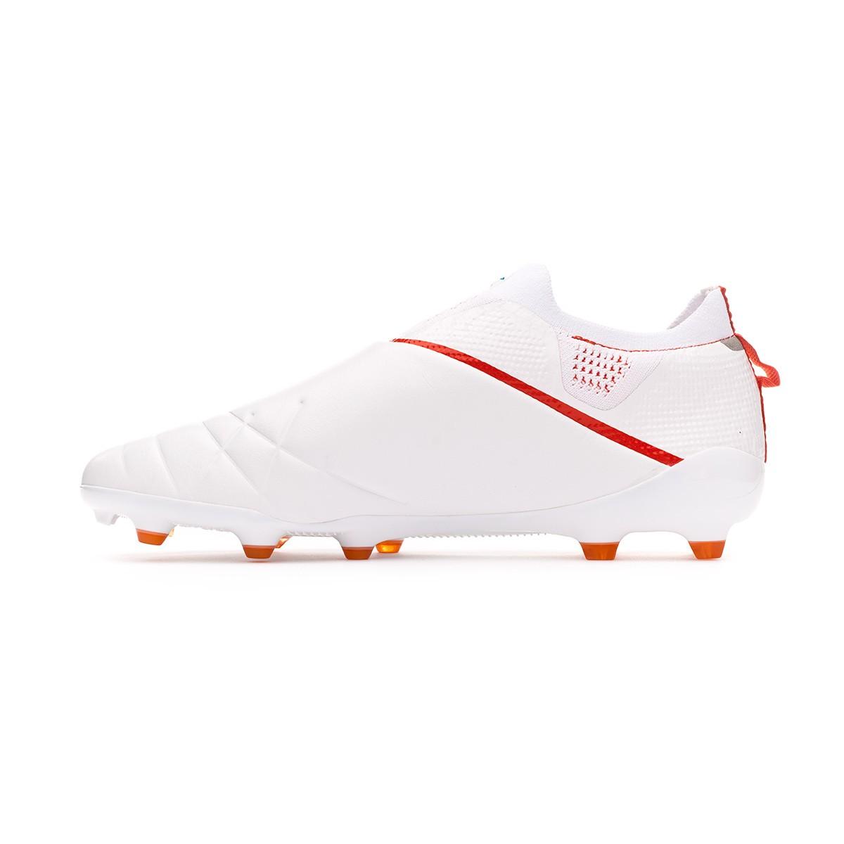 d69a6cdb9e Zapatos de fútbol Umbro Medusae III Elite FG White-Ibiza blue-Cherry tomato  - Tienda de fútbol Fútbol Emotion