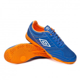 Zapatilla  Umbro New Vision Liga IC Royal-White-Turmeric