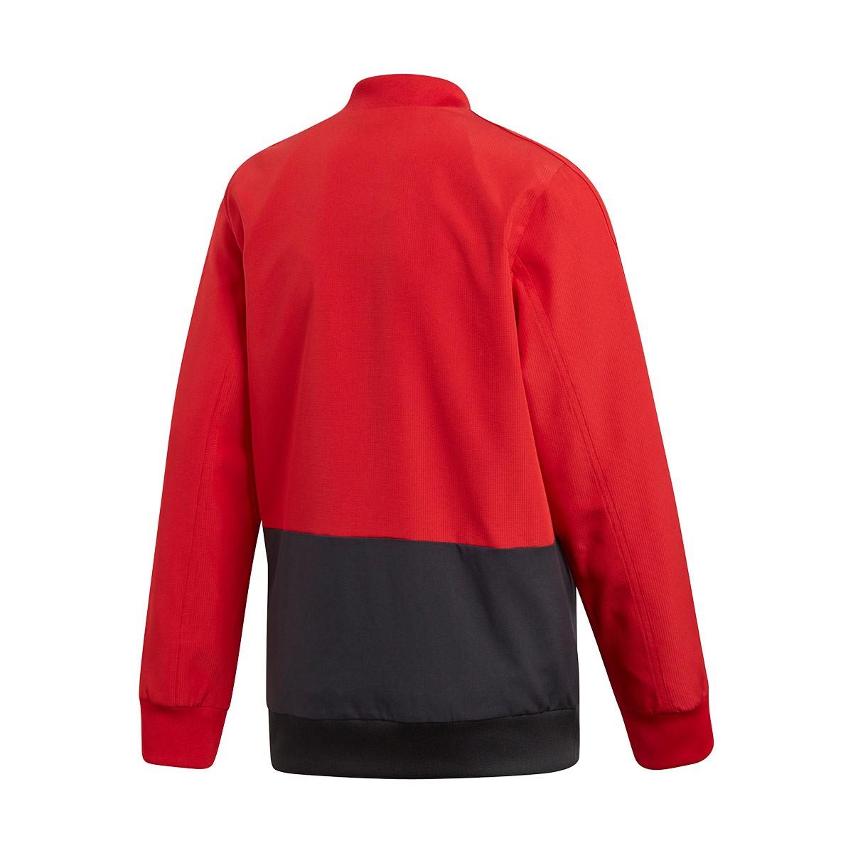 Últimas tendencias diversificado en envases diseño popular Jacket adidas Kids Condivo 18 Presentation Power red-Black-White ...