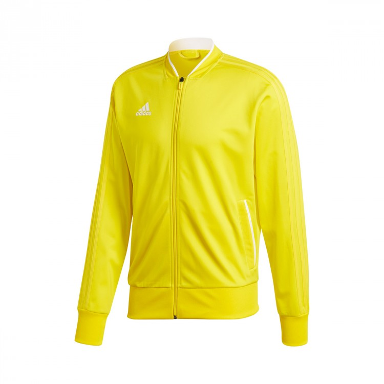 Condivo Chaqueta Polyester 18 Yellow White Y6by7gvf