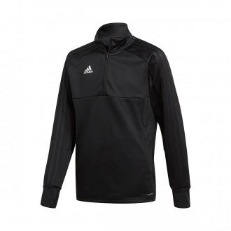 Sweatshirt  adidas Condivo 18 Training 2 Niño Black-White