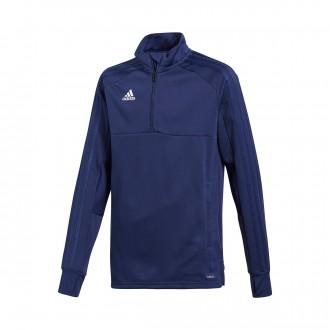 Sweatshirt  adidas Condivo 18 Training 2 Niño Dark blue-White