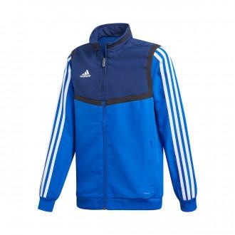 Jacket  adidas Tiro 19 Presentation Niño Bold blue-Dark blue-White