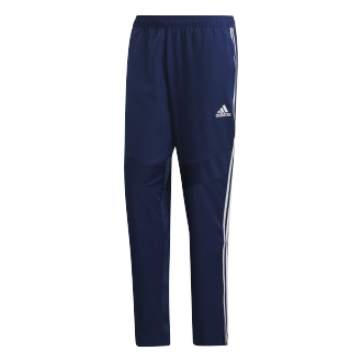 Pantalón largo adidas Tiro 19 Woven Dark blue-White