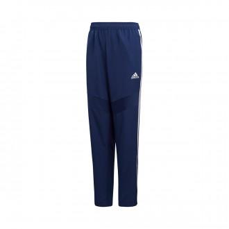 Tracksuit bottoms  adidas Tiro 19 Woven Niño Dark blue-White