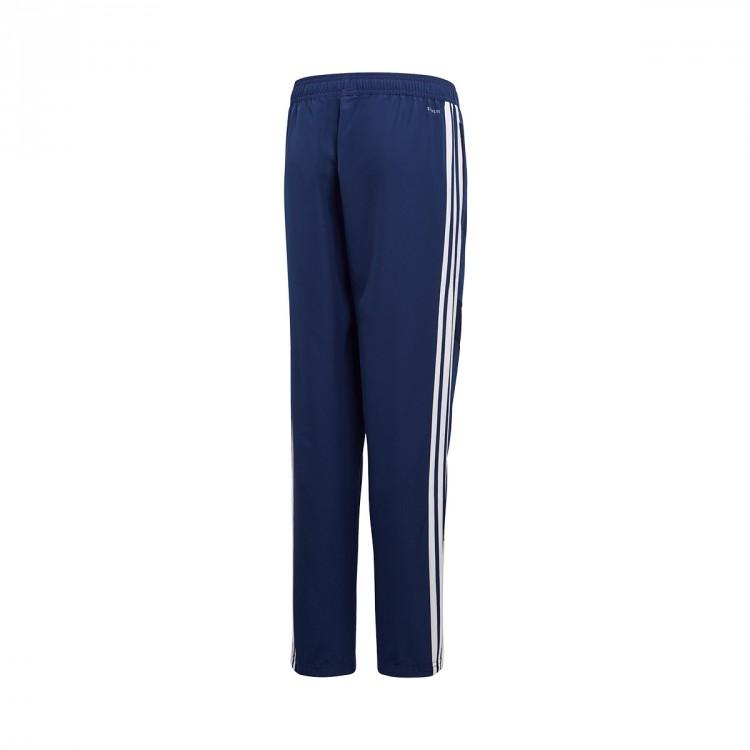 19 Adidas Niño Pantalón Tiro Dark Largo Woven White Blue q4tatFw