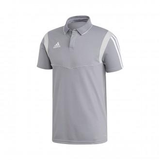 Polo shirt  adidas Tiro 19 m/c Grey-White