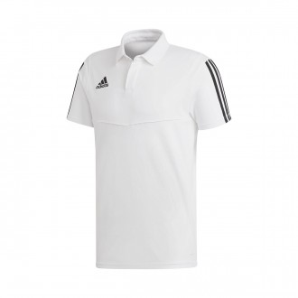 Polo  adidas Tiro 19 m/c White-Black