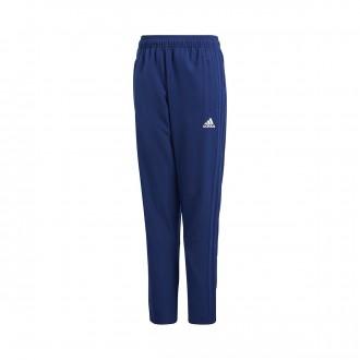 Tracksuit bottoms  adidas Condivo 18 Woven Niño Dark blue-White