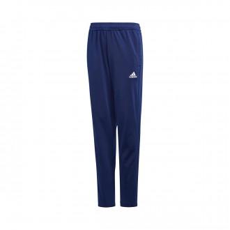 Tracksuit bottoms  adidas Condivo 18 Polyester Niño Dark blue-White