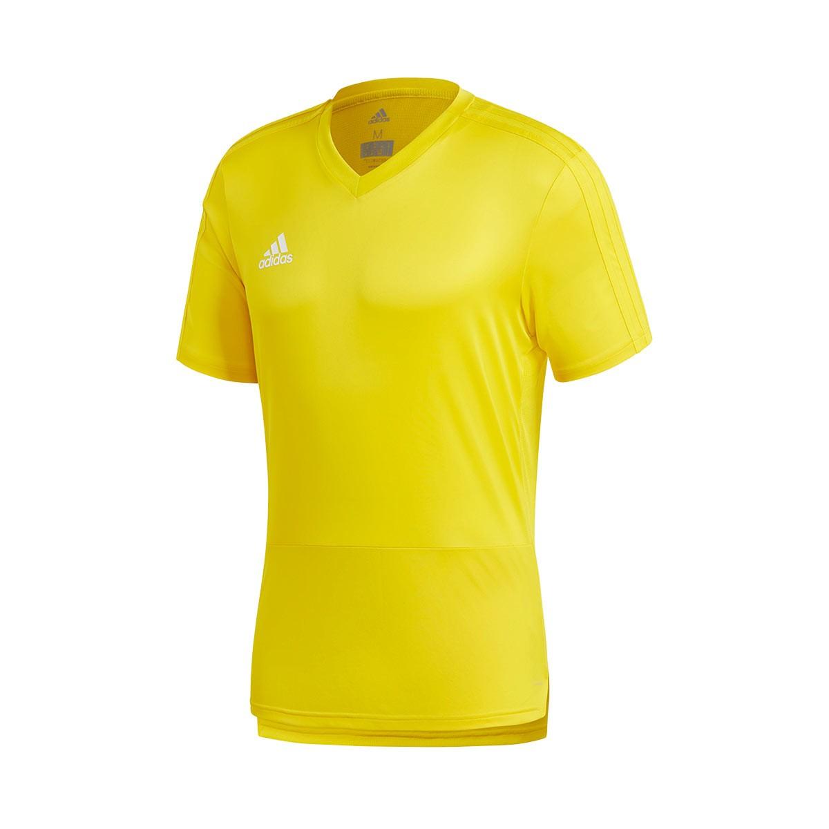 50c46d8256299 Camiseta Condivo 18 Training m/c Yellow-White