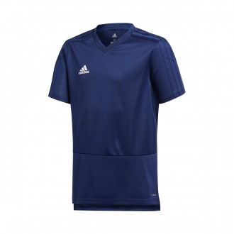 Jersey  adidas Kids Condivo 18 Training m/c  Dark blue-White
