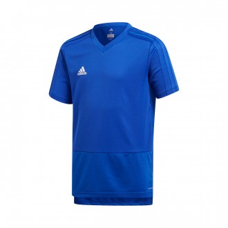 Jersey  adidas Kids Condivo 18 Training m/c  Bold blue-White
