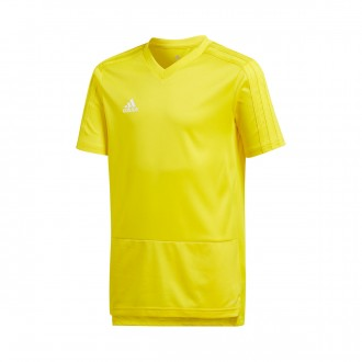 Jersey  adidas Kids Condivo 18 Training m/c  Yellow-White