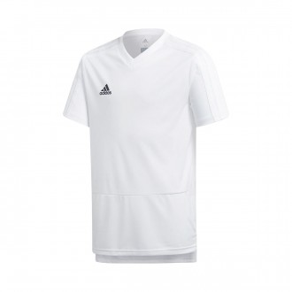 Jersey  adidas Kids Condivo 18 Training m/c  White-Black