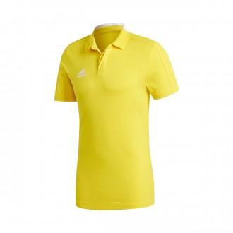 Polo shirt  adidas Condivo 18 m/c Yellow-White
