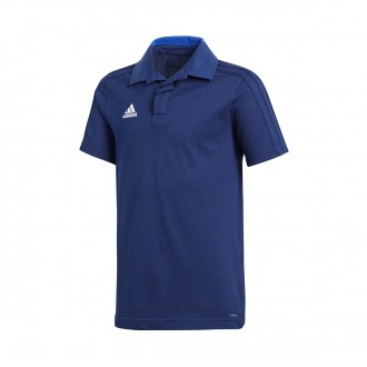Polo shirt  adidas Kids Condivo 18 m/c  Dark blue-White
