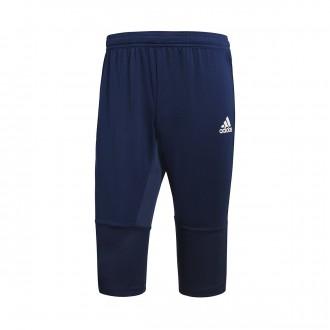 Pantalón pirata  adidas Condivo 18 Dark blue-White