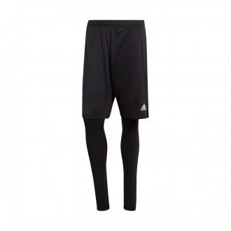 Pantalón corto  adidas Condivo 18 2in1 Black-White