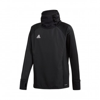 Sweatshirt  adidas Condivo 18 Warm Niño Black-White
