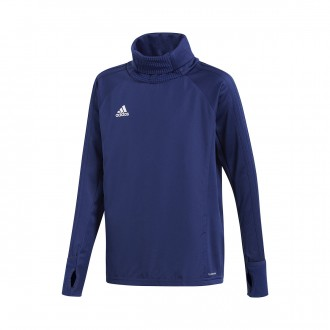 Sudadera  adidas Condivo 18 Warm Niño Dark blue-White