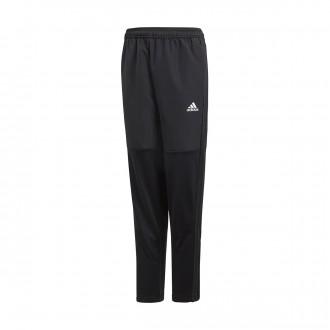 Pantalón largo  adidas Condivo 18 Warm Niño Black-White