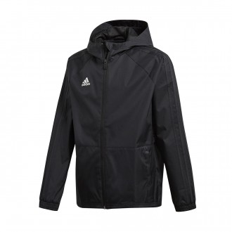 Raincoat  adidas Kids Condivo 18  Black-White
