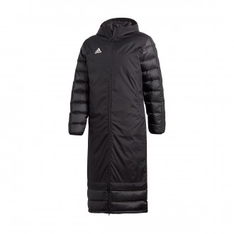 Abrigo adidas Condivo 18 Winter Coat Black-White