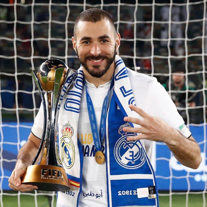 World Real Fifa 2018 Champion Madrid White Adidas Camiseta 4IxPqTwnOa