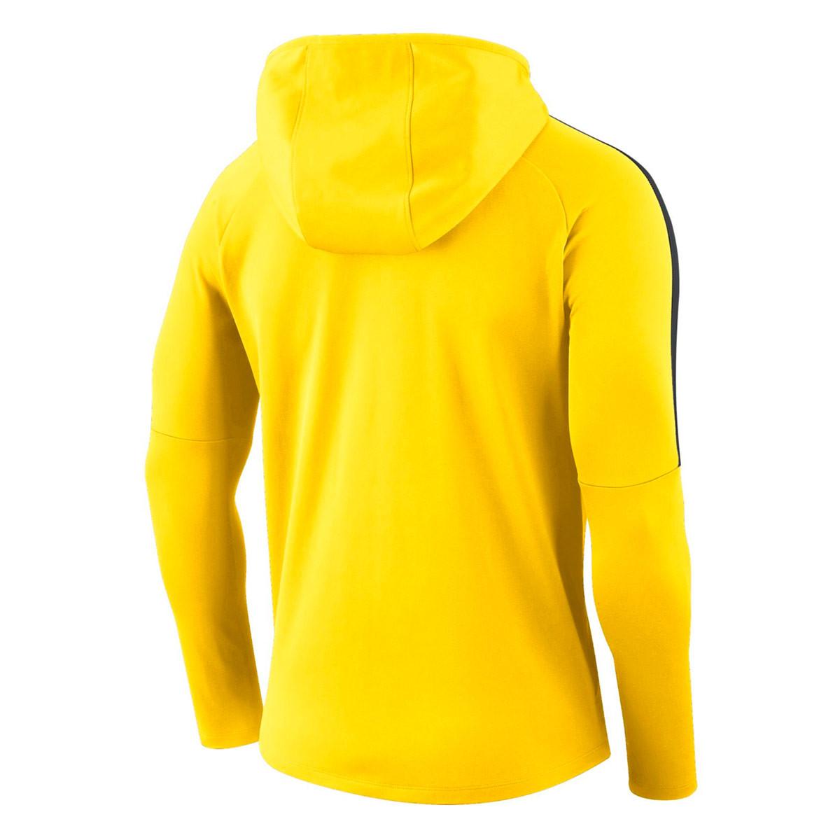 22aec07d5 Sweatshirt Nike Kids Academy 18 Hoodie Tour yellow-Anthracite-Black -  Football store Fútbol Emotion