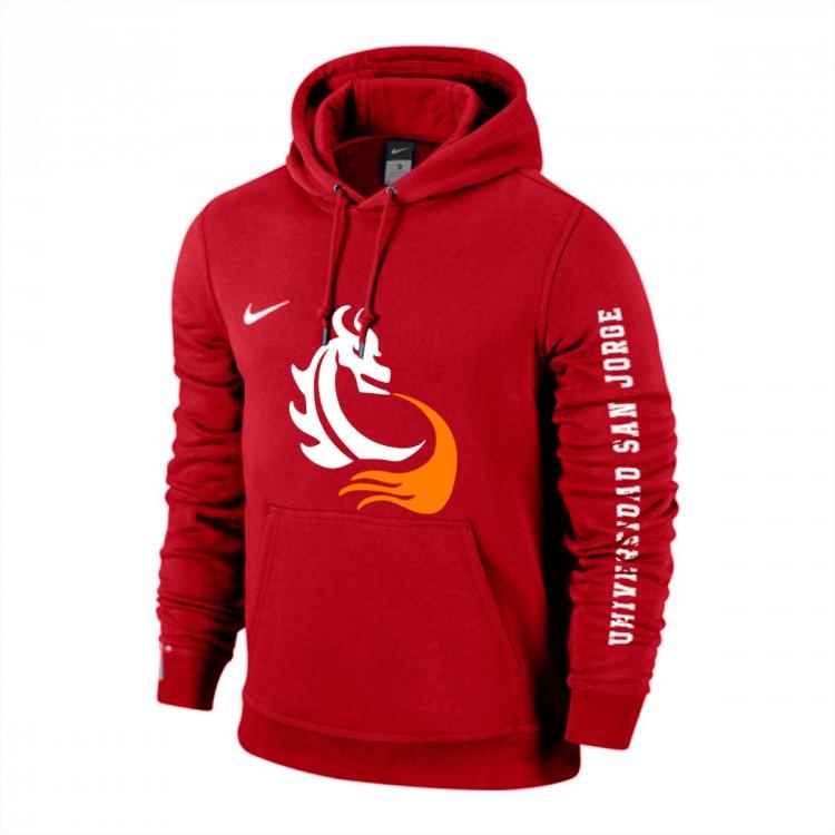 Sudadera Nike Dragon Football Hoodie USJ University red-White ... 0f68b48da95