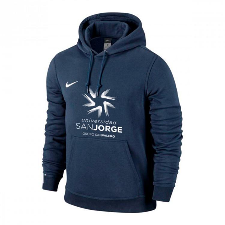 Sudadera Nike Football Hoodie USJ Obsidian-White - Soloporteros es ... 3d677fb6778
